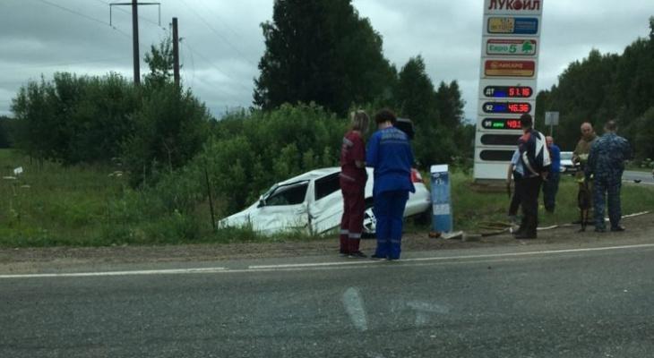 В Кировской области произошло смертельное столкновение автомобиля с мотоциклом