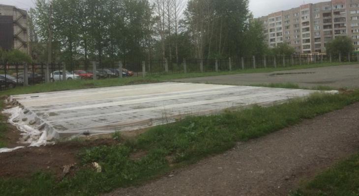 В Кирове у «Трамплина» появится новая спортивная площадка