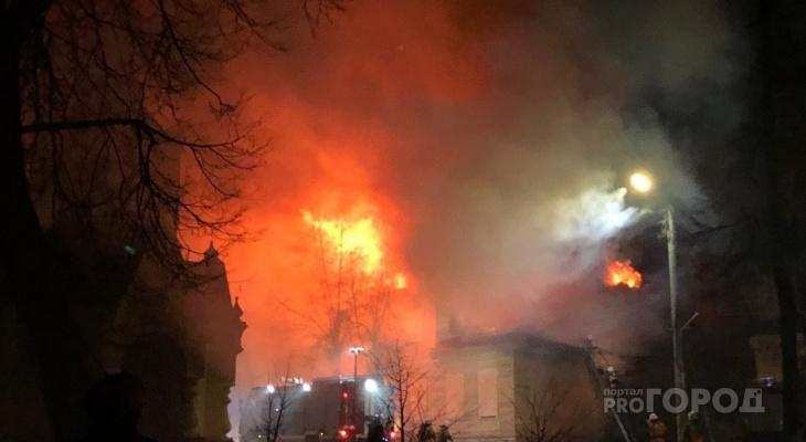 В центре Кирова в пожаре погибла пара