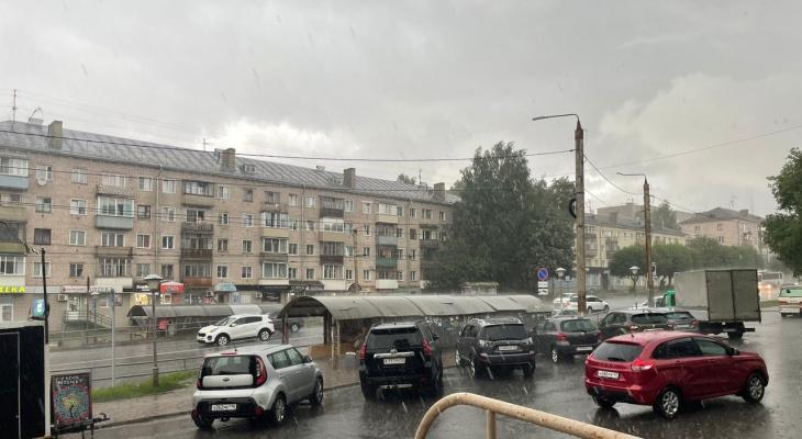 16 июля в Кирове весь день пройдут дожди и грозы