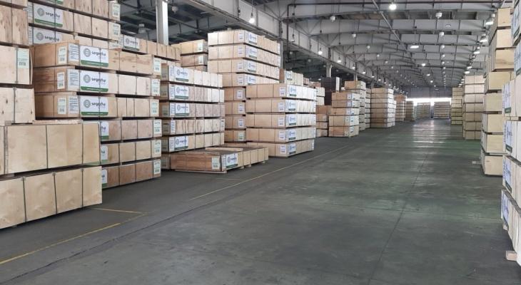 Segezha Group завершила цифровизацию склада готовой продукции Вятского фанерного комбината