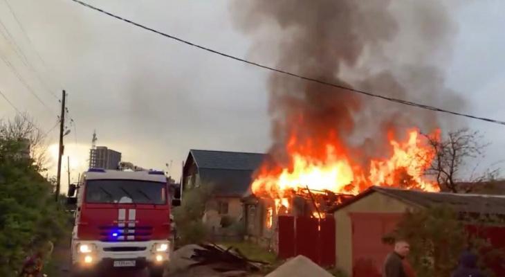 В Кировской области из-за грозы начались 2 пожара