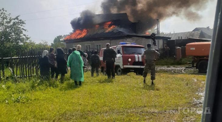 Что обсуждают в Кирове: пожары из-за грозы и ДТП в Уржумском районе