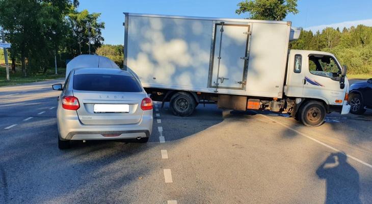 В Слободском районе в ДТП серьезно пострадала 14-летняя девочка