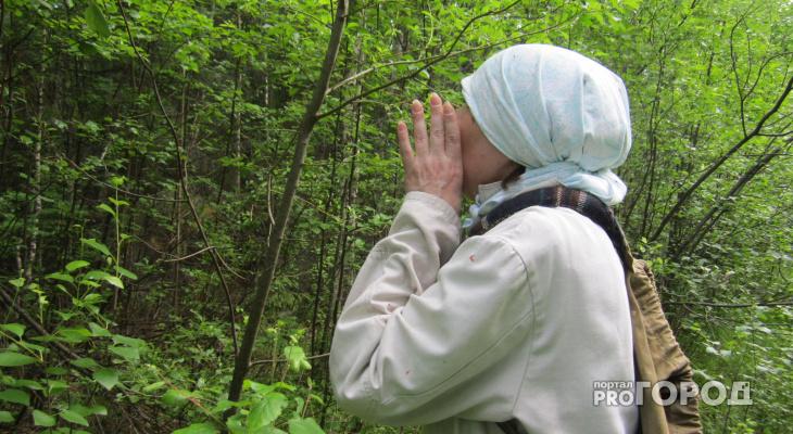 Кировская пенсионерка ушла в лес за грибами и заблудилась