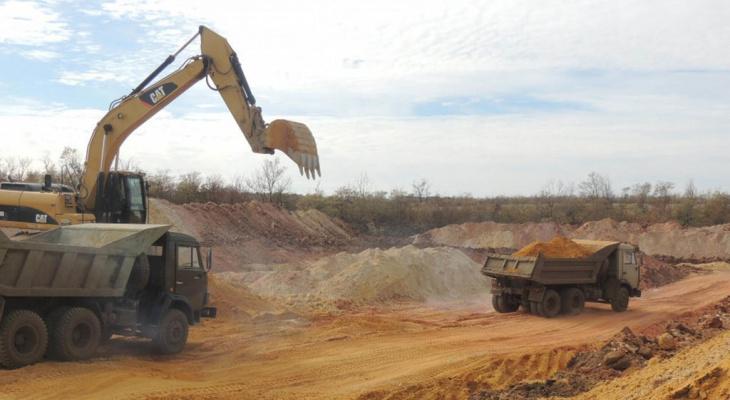 В Кировской области украли песок на 22 миллиона рублей