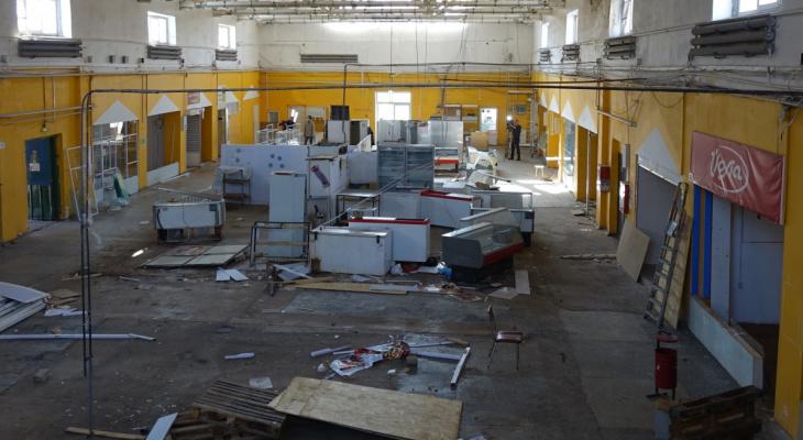 За 15 месяцев в Кирове построят Октябрьский рынок