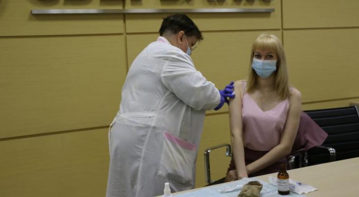 79% сотрудников Сбера в Кирове прошли вакцинацию от Covid-19