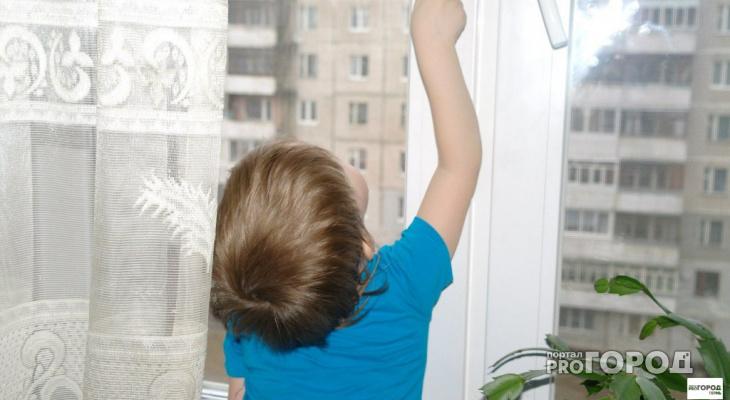 В Кировской области за сутки из окон выпали два ребенка