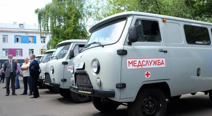 Новые автомобили отправились в районные больницы
