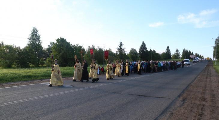 В августе в Великорецкое отправится еще один крестный ход