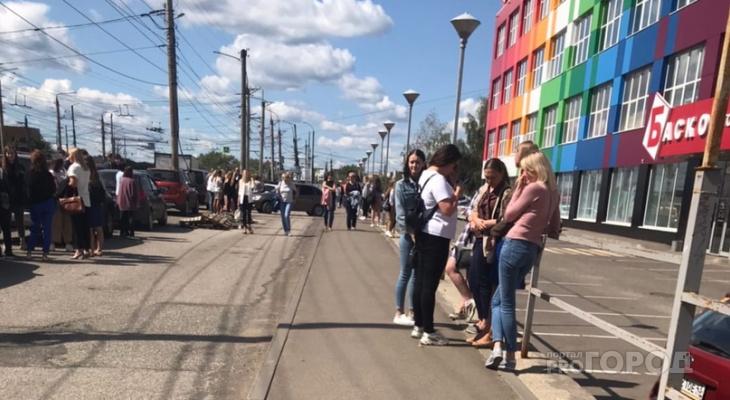 В Кирове эвакуировали посетителей и сотрудников ТЦ «Баско»
