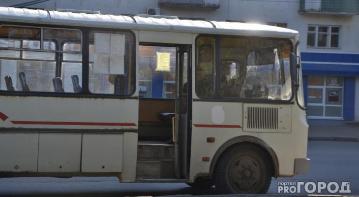 Жителей Кирово-Чепецка на автобусе перевозил водитель без прав