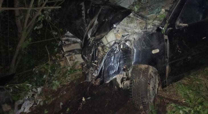 В Кирове в ДТП на трассе пострадали трое взрослых и 9-летняя девочка