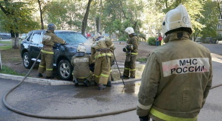 В Кировской области за сутки сгорели три машины