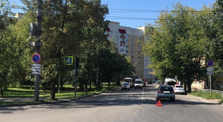 В Кирове водитель иномарки сбил 10-летнего ребенка