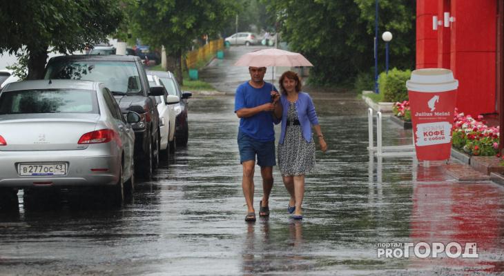 В выходные в Кирове ожидается теплая погода