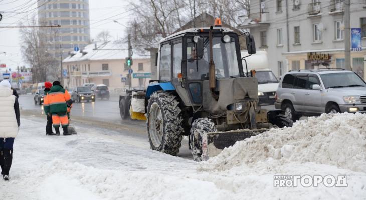 Улицы Кирова будут лучше чистить от снега