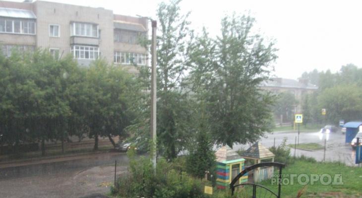 Потоп в Кирове из-за ливня: видео и фото последствий непогоды 31 июля