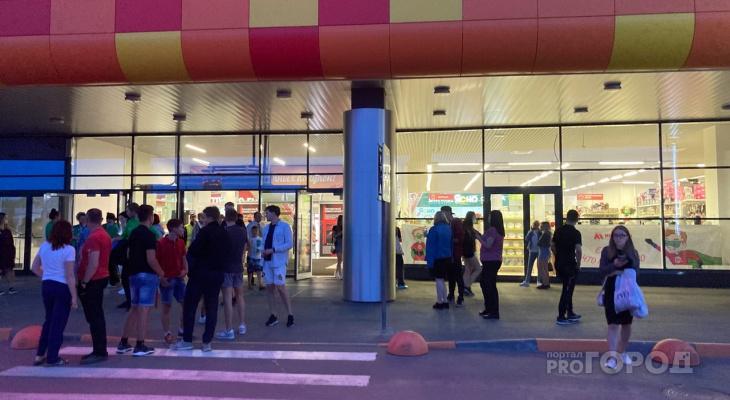 В Кирове из торгового центра «МАКСИ» на Луганской эвакуировали людей