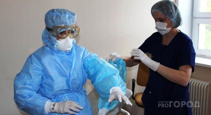 В Кировской области резко увеличилось число больных COVID-19 в тяжелом состоянии