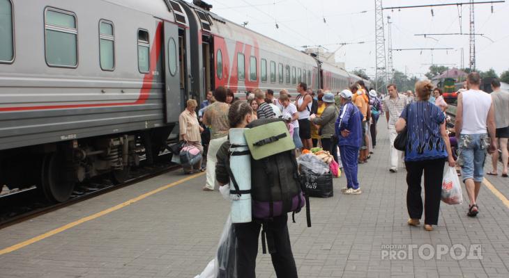 Кировские семьи с детьми могут купить билеты на поезд со скидкой 40%