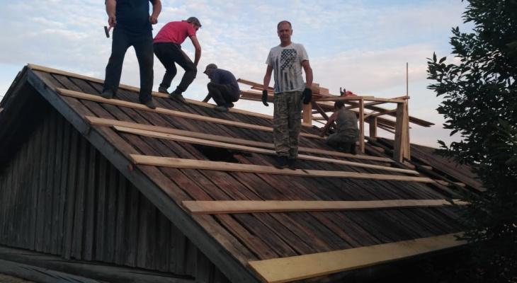 Жители Кировской области в здании неработающего магазина решили сделать часовню