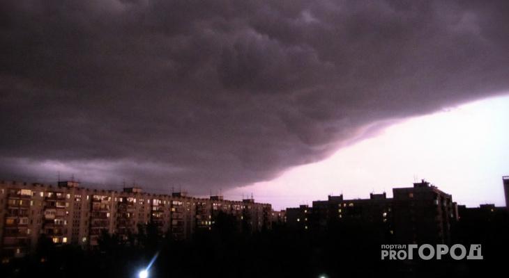 4 августа в Кирове ожидается сильная гроза