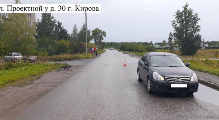 В Кирове водитель иномарки сбил 6-летнего велосипедиста