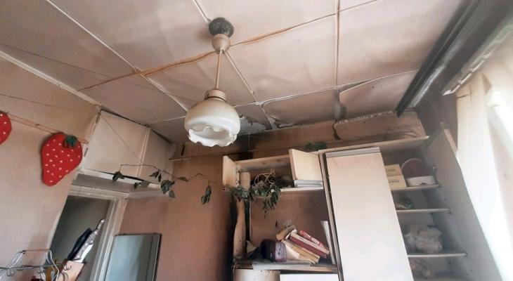 В Кировской области забытый кипятильник вызвал пожар в многоквартирном доме