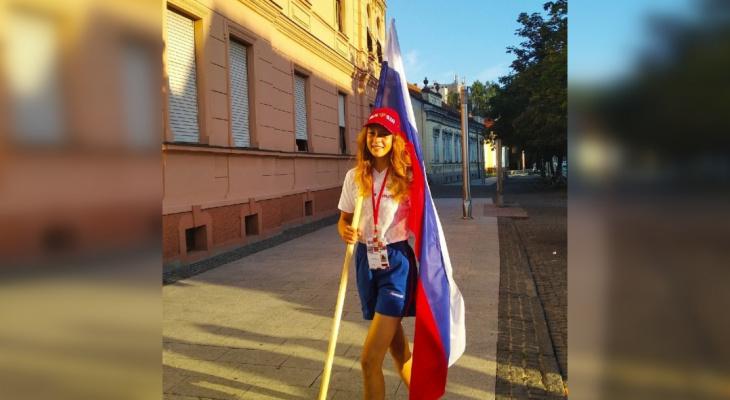 Кировчанка стала чемпионкой мира по подъему по штурмовой лестнице