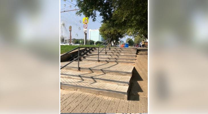 В Кирове привели в порядок еще две лестницы
