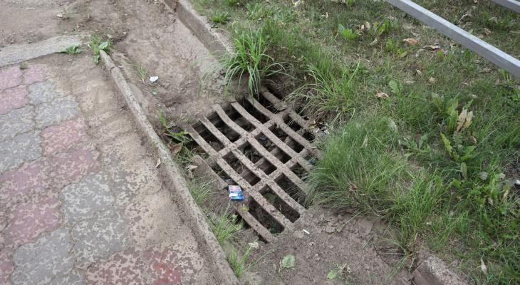 В Кирове 5 миллионов рублей потратят на ремонт и очистку ливневок