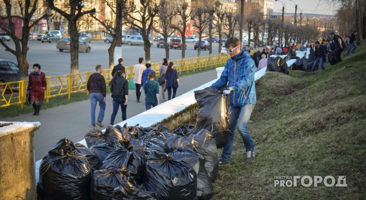 В день выборов в Кирове пройдет субботник