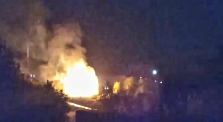В Кировской области сгорел дом