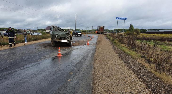 В Слободском районе произошла массовая авария с пострадавшими