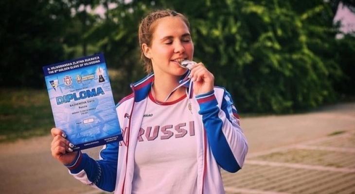 Юная кировская боксерша завоевала золото на международном турнире
