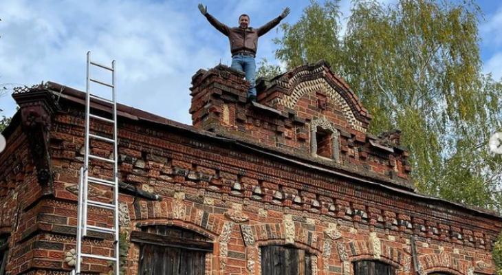 Кировчанин купил столетнее здание в Яранске, чтобы отреставрировать его за миллионы рублей