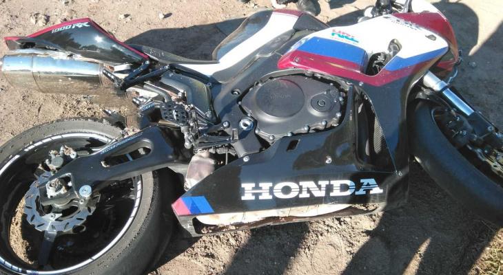 В Кировской области в ДТП погиб водитель мотоцикла Honda