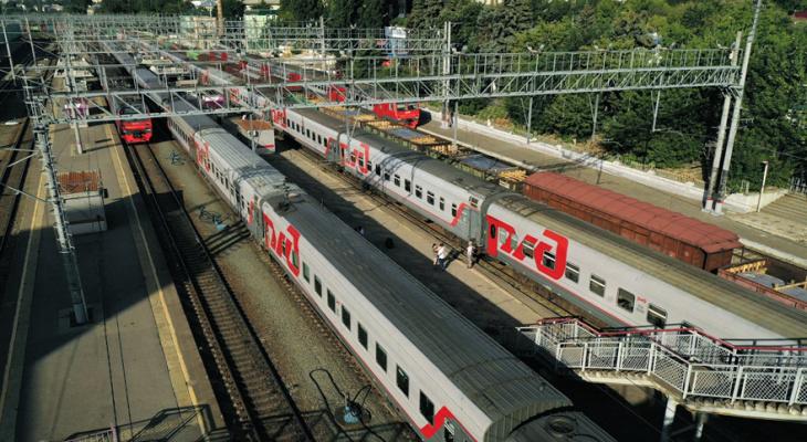 В ноябрьские праздники в Кирове РЖД запустит 160 дополнительных поездов