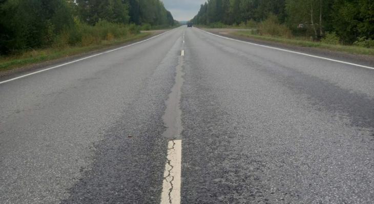 На трассе в Кировской области водитель сбил женщину насмерть и скрылся