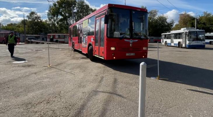 В Кирове выбрали лучшего водителя автобуса
