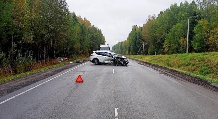 В Кировской области в ДТП пострадали 5-месячный мальчик и двое взрослых