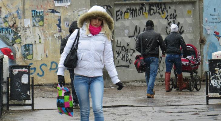 В Кирове ожидаются заморозки и мокрый снег