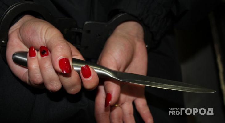 В Кировской области женщина зарезала своего сожителя