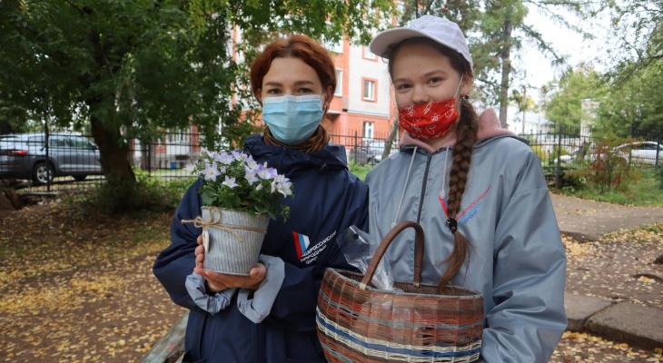 Кировчане собрали 150 килограммов овощей и фруктов для одиноких пенсионеров