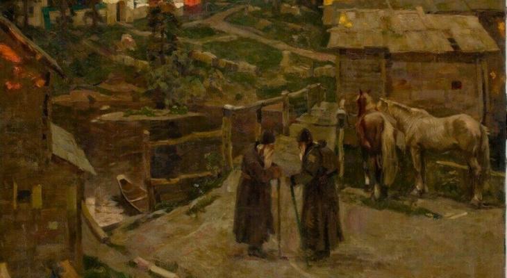 Картина вятского художника сто лет назад была в Нью-Йорке, а потом вернулась на родину