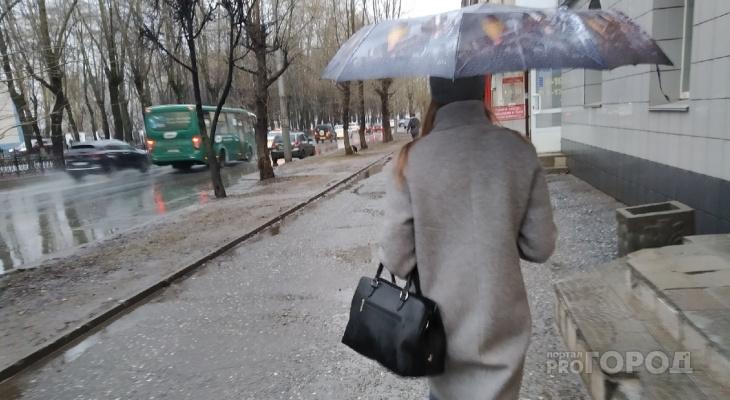 До +10 и небольшие дожди: известно, какая погода ждет кировчан на рабочей неделе