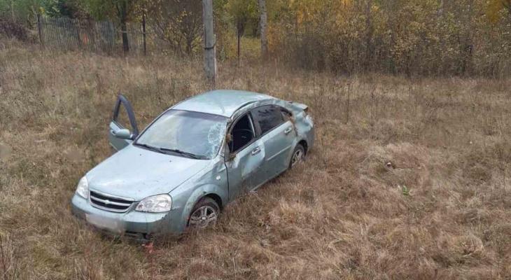 В Кирове на трассе насмерть разбился водитель Chevrolet Lacetti