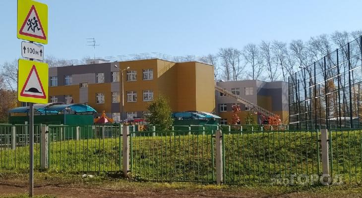 В Кирове из детсада эвакуировали детей: на месте четыре пожарных расчета